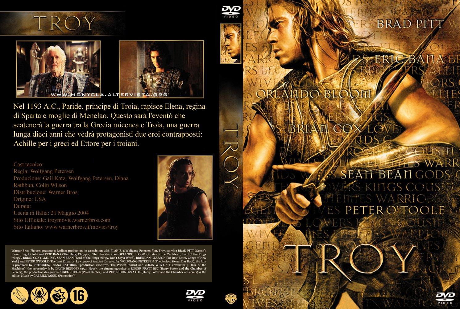 troy dvd italiano  DVD titoli by GRARIO